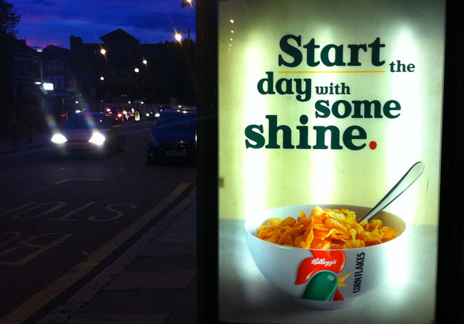 Kellogg's start shine