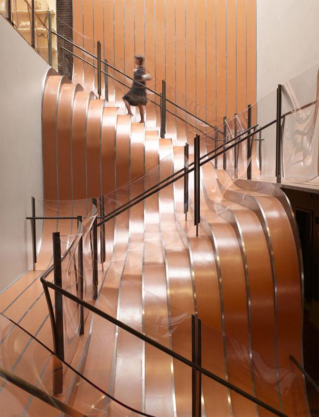 Longchamp stairs