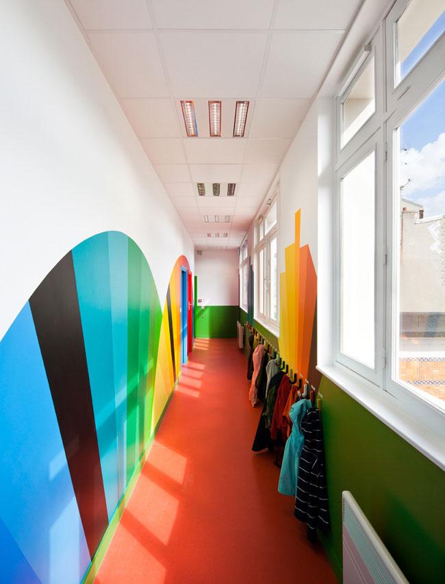 Pajol kindergarten, France