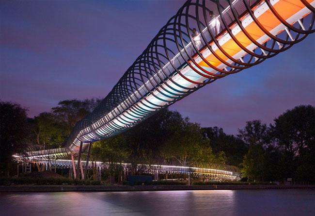 Rhein-Herne canal footbridge