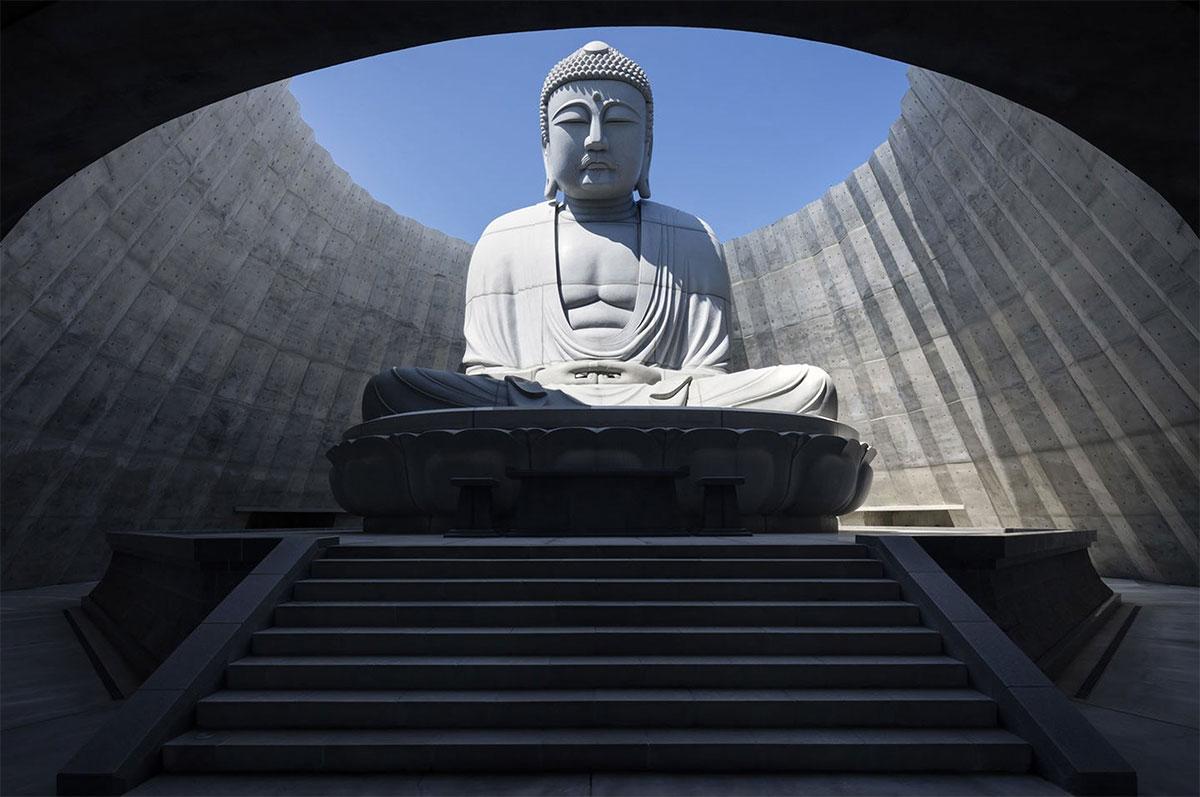 Tadao Ando Hill of Buddha