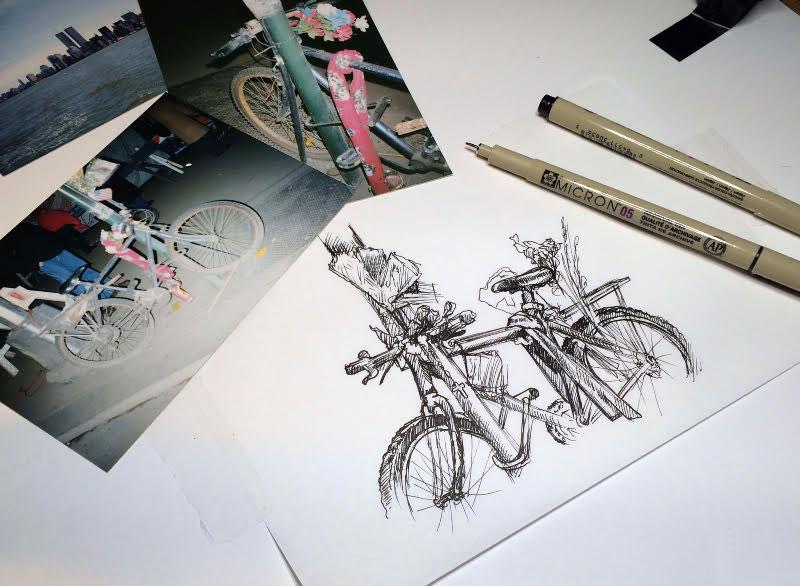 9/11 bike memorial project