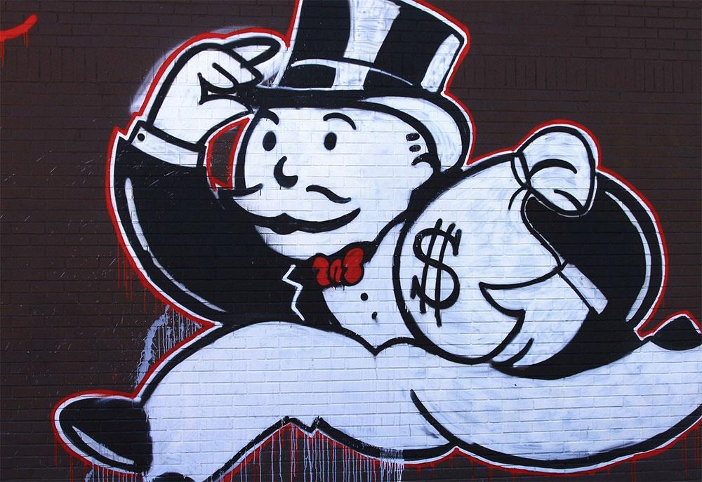 Alec Monopoly graffiti