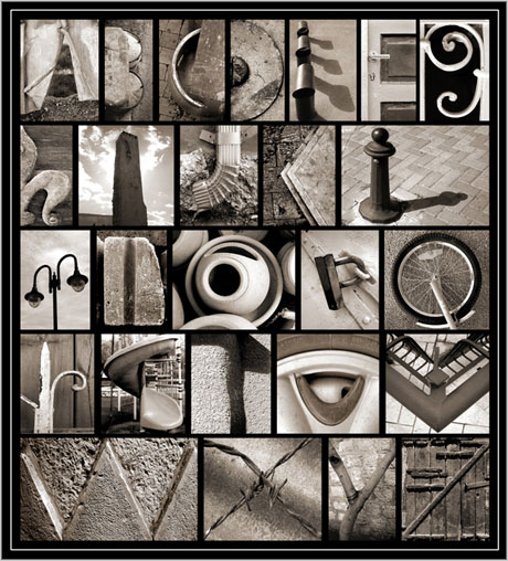 alphabet life objects photo