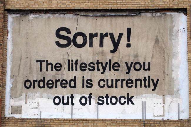 Banksy out of stock