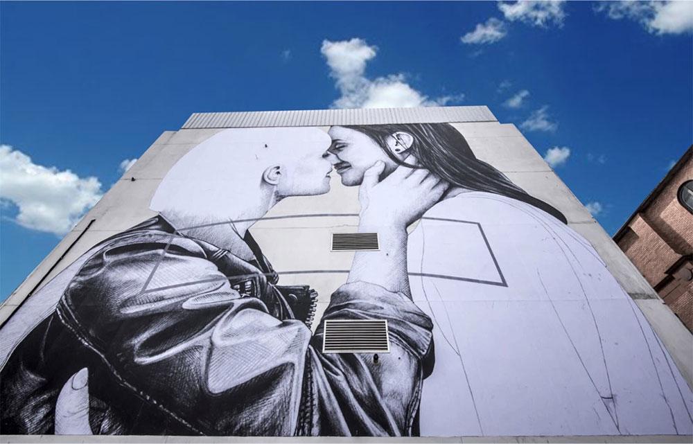 Love Wins mural, Belfast