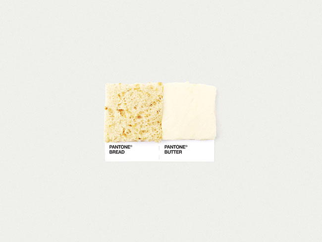 Pantone bread butter