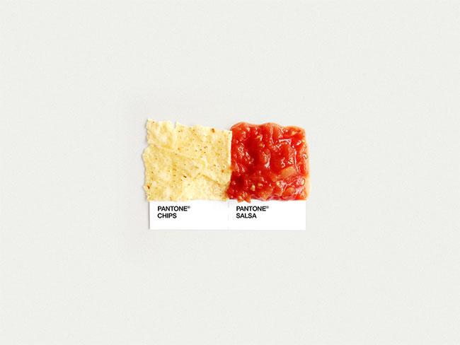 Pantone chips salsa