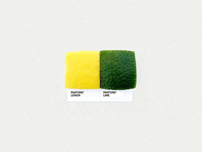 Pantone lemon lime