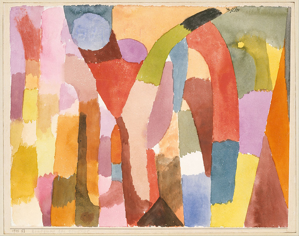 Paul Klee Movement of Vaulted Chambers