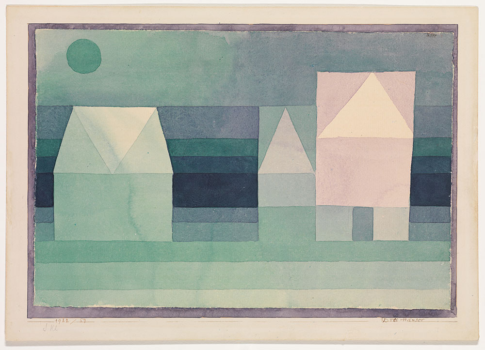Paul Klee Three Houses