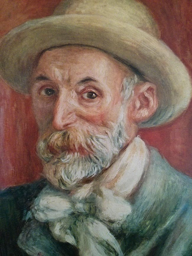 Renoir self-portrait circa 1910