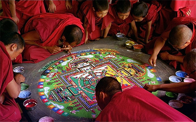Sand mandala, Samsara