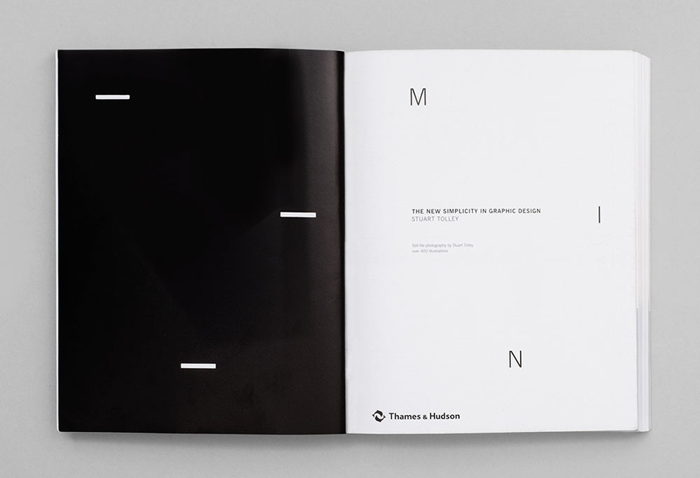 Min the new simplicity in graphic design david airey for Minimalist book design