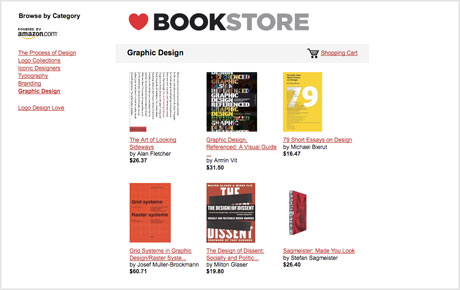 design bookstore