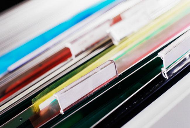 file tabs
