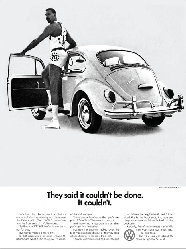 Remember those great Volkswagen ads