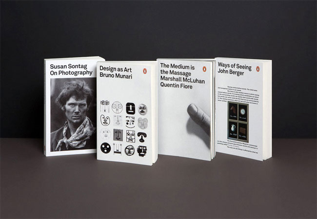 Penguin book cover designs by YES