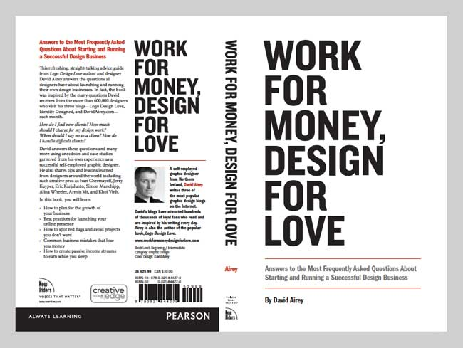 Work for Money, Design for Love cover spread