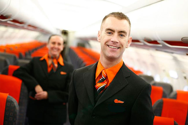 easyJet uniform