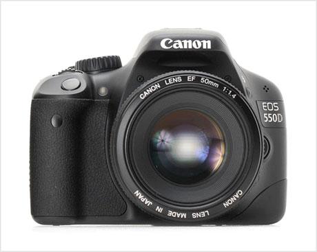 Canon EOS 550D camera