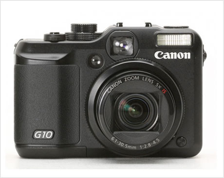 Canon G10 camera