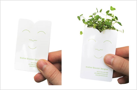 cress business card