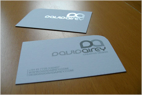 david airey business card design