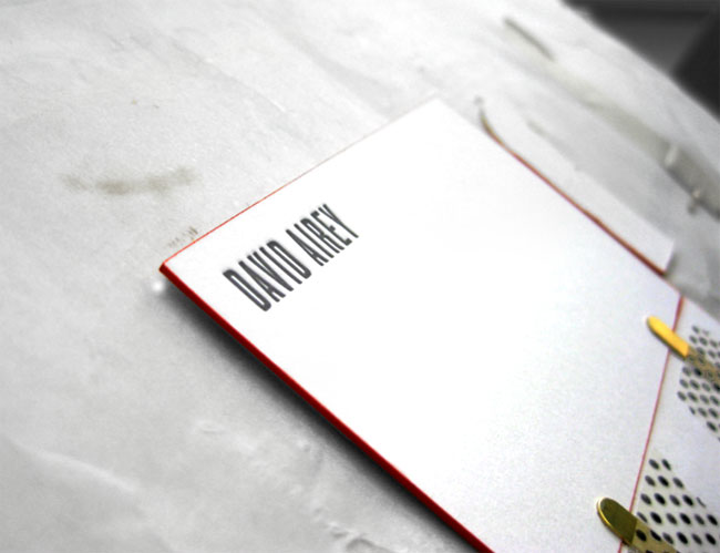 kikisoso letterpress card