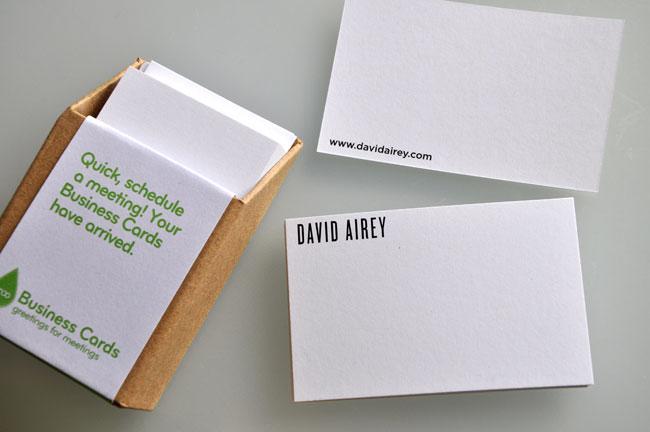 Moo card David Airey