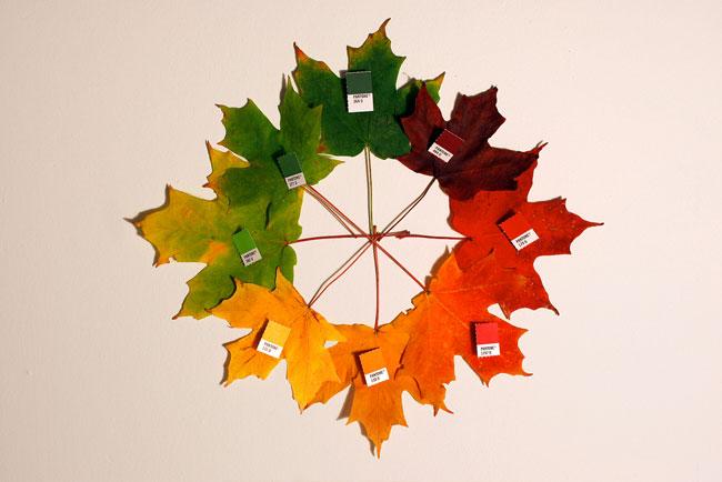 pantone leaves