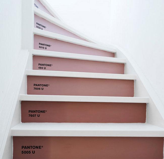 Pantone stairs