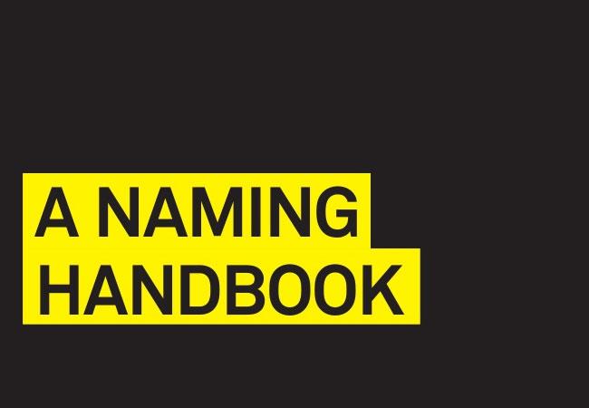 A naming handbook