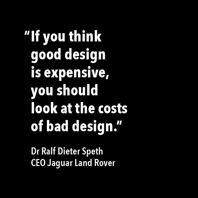 Good design, bad design