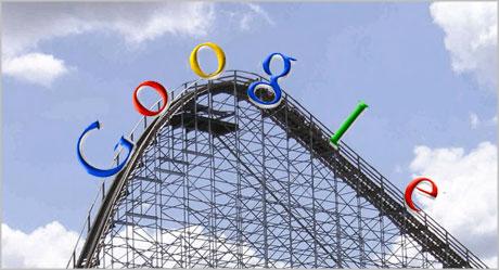 Google roller coaster