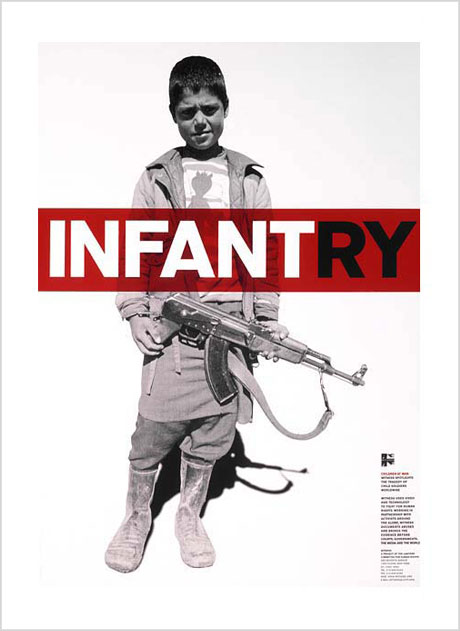 INFANTRY poster by Lippa Pearce