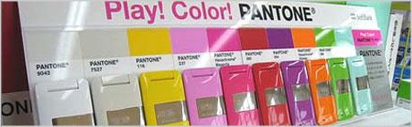 Pantone mobile phones