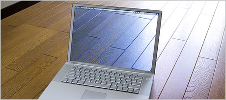 transparent laptop screen