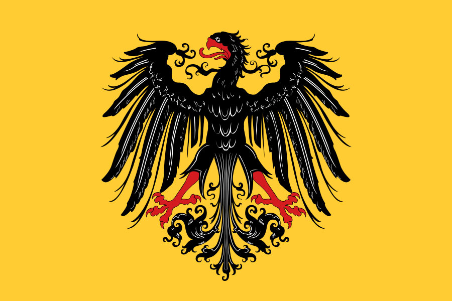 German imperial banner