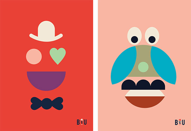 Hvass&Hannibal's identity for Copenhagen Central Library children's department