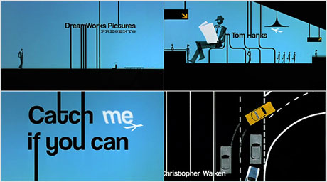 Catch Me If You Can title sequence