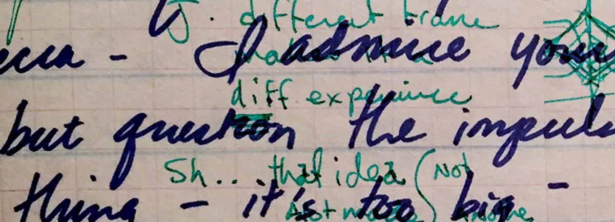 Critique notes