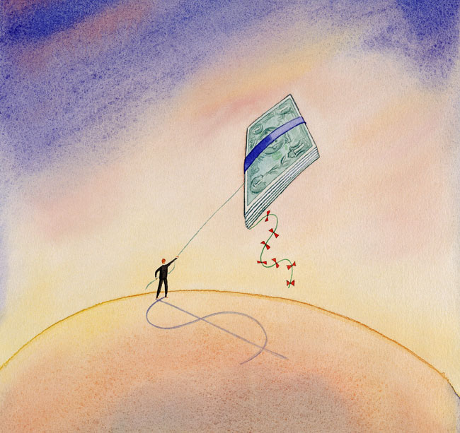Money kite