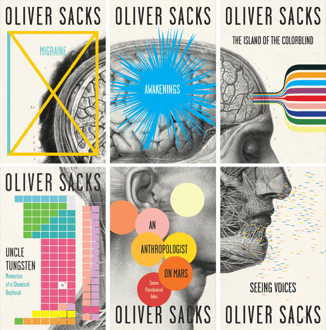 Oliver Sacks book cover design