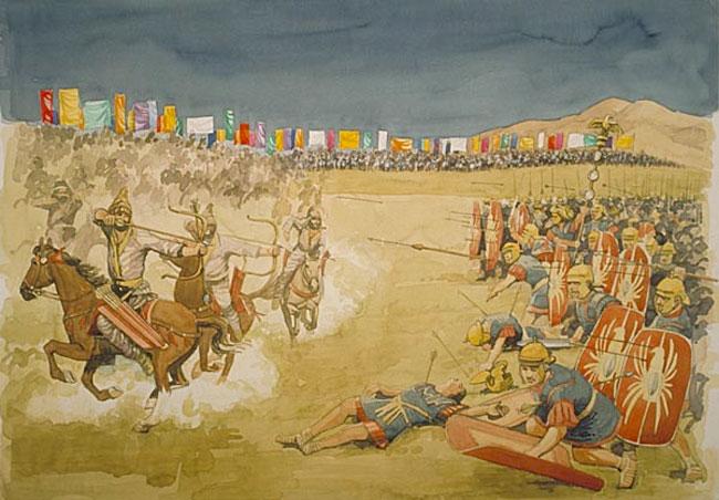 Parthians and Romans