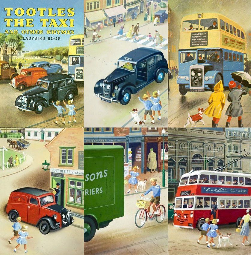 Tootles the Taxi illustrations