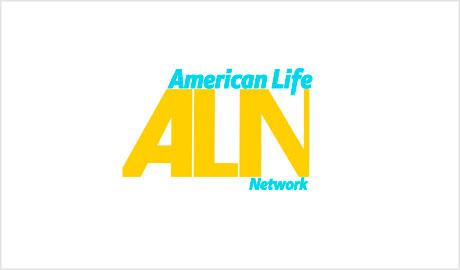American Life Network logo design