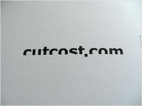 Cutcost logo design