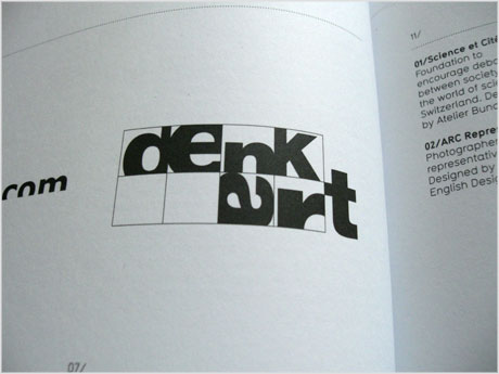 Denk Art logo design