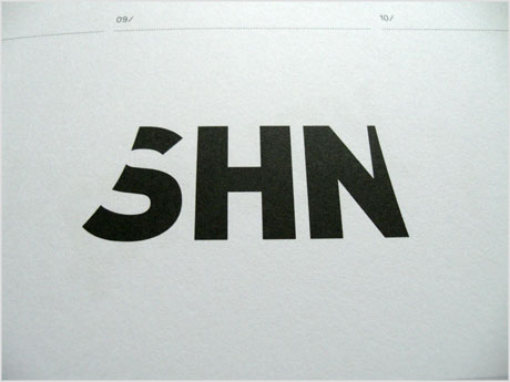 SHN logo design